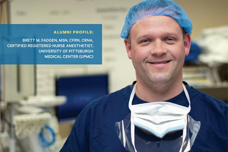 Alumni Brett Fadgen Duquesne University School of Nursing