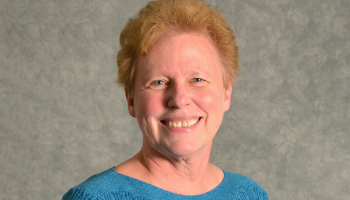 headshot of smiling woman (Sister Mary Meyers)